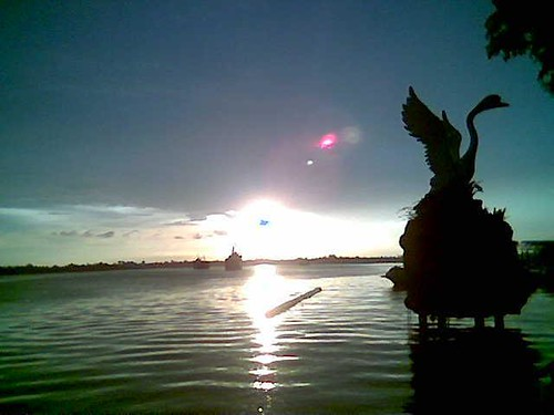 Evening in Sibu