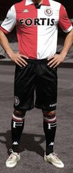 huidige Feyenoord shirt