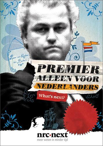 NRC Next - geert wilders by -MAKI-.