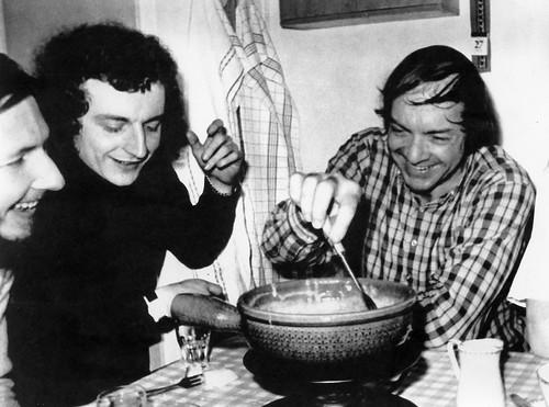 André Crousaz, Mick Larie, Bill Clifton, 1973