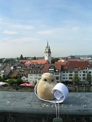 Über Friedrichshafen