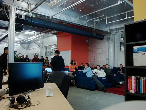 Allen Tom at the Open Stack Meetup