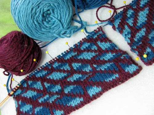 Estela Cardigan Test Knit Sleeves