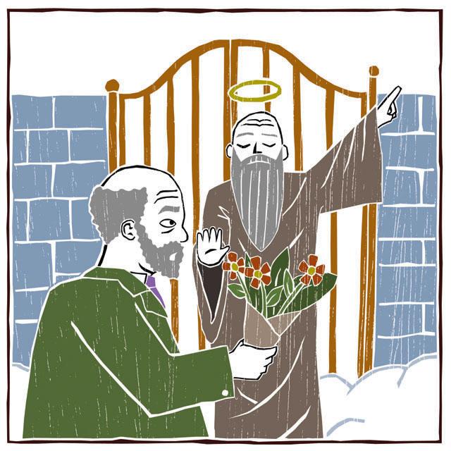 Ilustração do livro Faustino