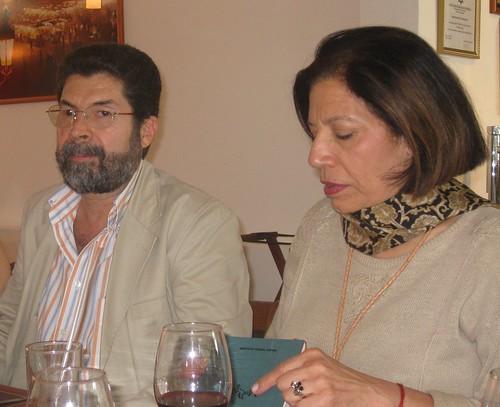 Alberto Veloz y Mayte Navarro