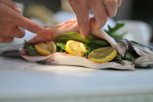 Trout With Herbs and Lemon