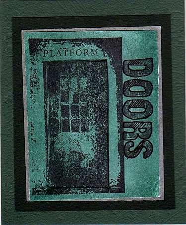 Door Card One - Front