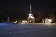 The View Across the Snow-Covered Lexington Gre...