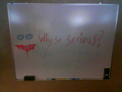 Why so serious? by m!les