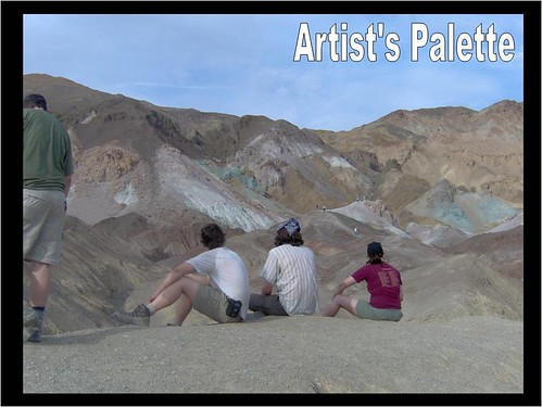 Minor copper mineralization in these hills has caused the distinct coloration of Artists Palette.