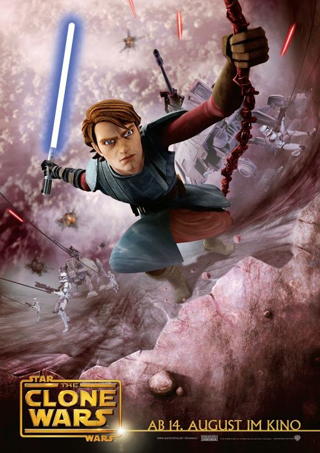 Star Wars: The Clone Wars (2008) poster