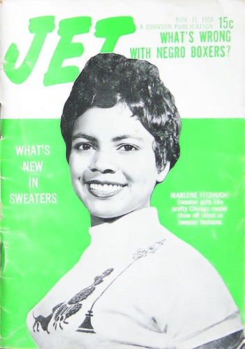What's New In Sweaters - Jet Magazine, November 11, 1954 by vieilles_annonces.