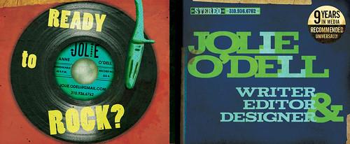 Jolie ODell Portfolio Cover