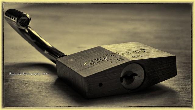 #173/365 Locked-Up