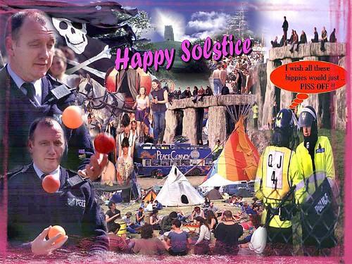 Solstice card