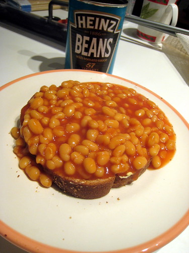 Plate of Beans on Toast