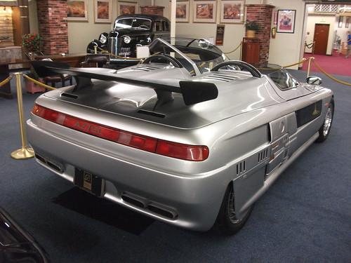 1988 ItalDesign Aztec rear