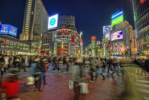Shibuya at Night de  /\ltus