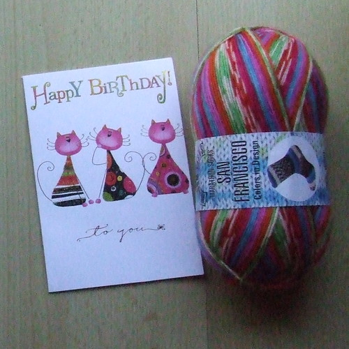 Lovely Sock Yarn from Barbara