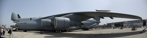 C-5 Galaxy Panorama by britiger