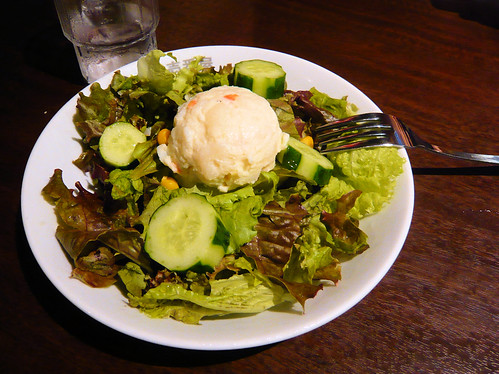 Salad at Coco Curry
