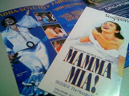 Mamma Mia brochures 2