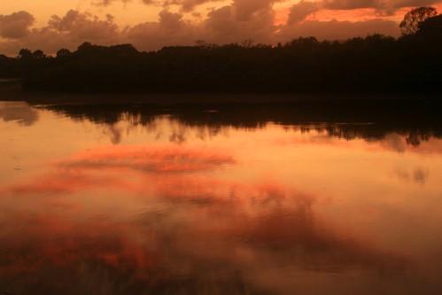 Sunrise over Ross River