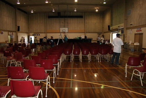 Behold the venue !