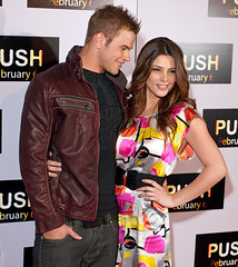 ashley greene and kellan lutz arrive push premiere