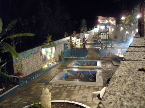 Aguas Caliente hot springs