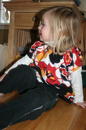 L4 in her Lotus Blossom shirt