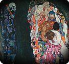 Gustav Klimt. Vida y muerte, 1916.