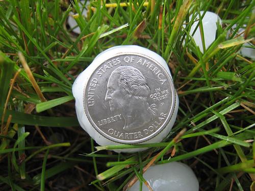 quarter hail