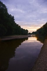 Mackinaw River Sunset