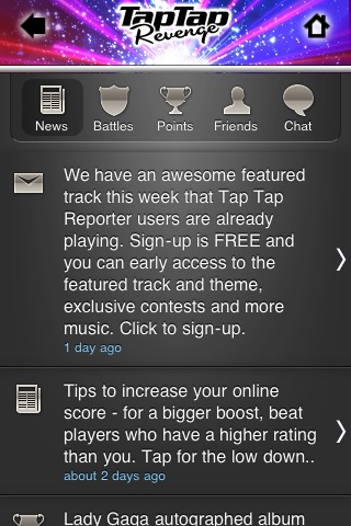 Tap tap revenge 2.6 best game play on line