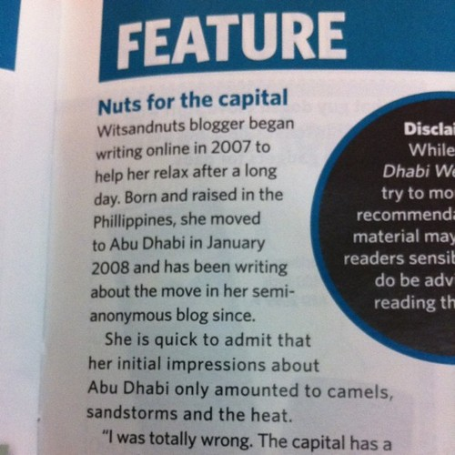 Nuts for the Capital as talking caption ;)