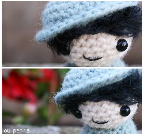 Oui Petite Blue Girl