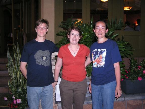 Matt, Kelley, Me