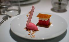 Galette of Rhubarb, Neroli-Scented Yoghurt