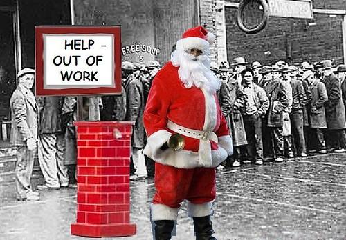 Christmas 2009: Santa Still Laid Off