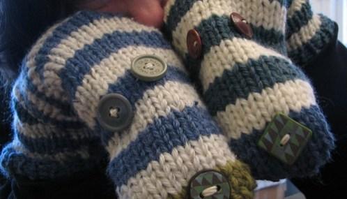 Luxurious Loom Knit Neckwarmer Polka Dot Cottage