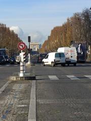 Champs Elysees from Place de la Concorde