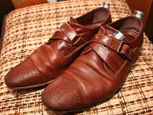 Schoenen smerig