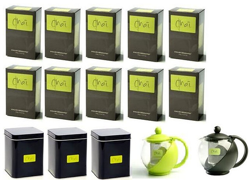 Chais Tea range