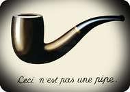 René Magritte. Esto no es una pipa, 1929.