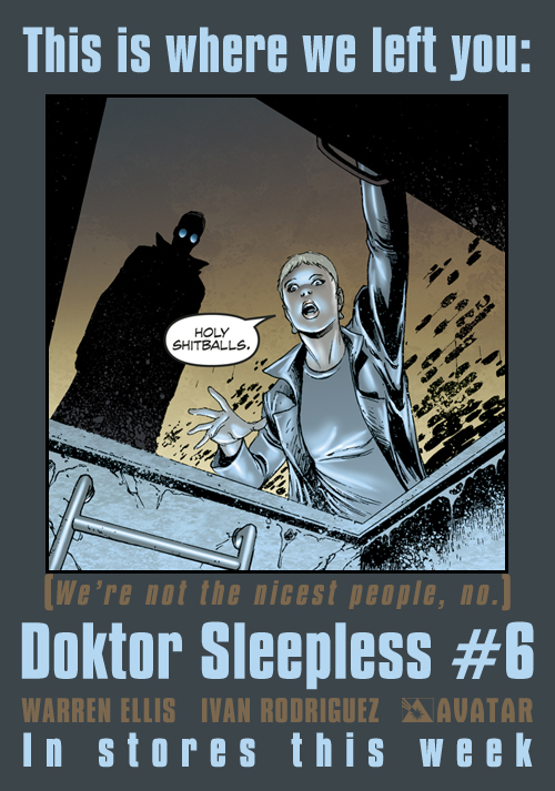 Doktor Sleepless Issue 6