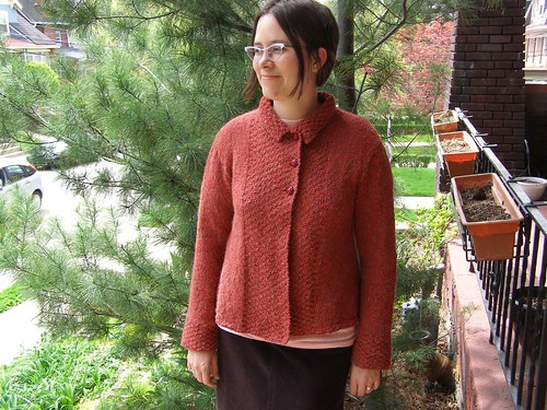 tweedy alpaca jacket II