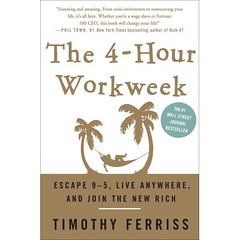 The 4 Hour Work Week Book Cover Timothy Ferris