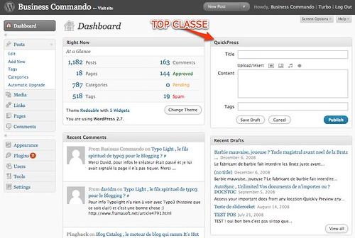 Business Commando › Dashboard — WordPress by you.