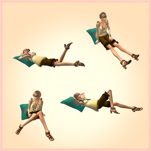 [[RC]] Rainbow Chaser _Relax cushion 01_ A
